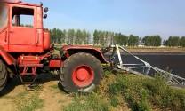 Подключение миксера к трактору Т-150